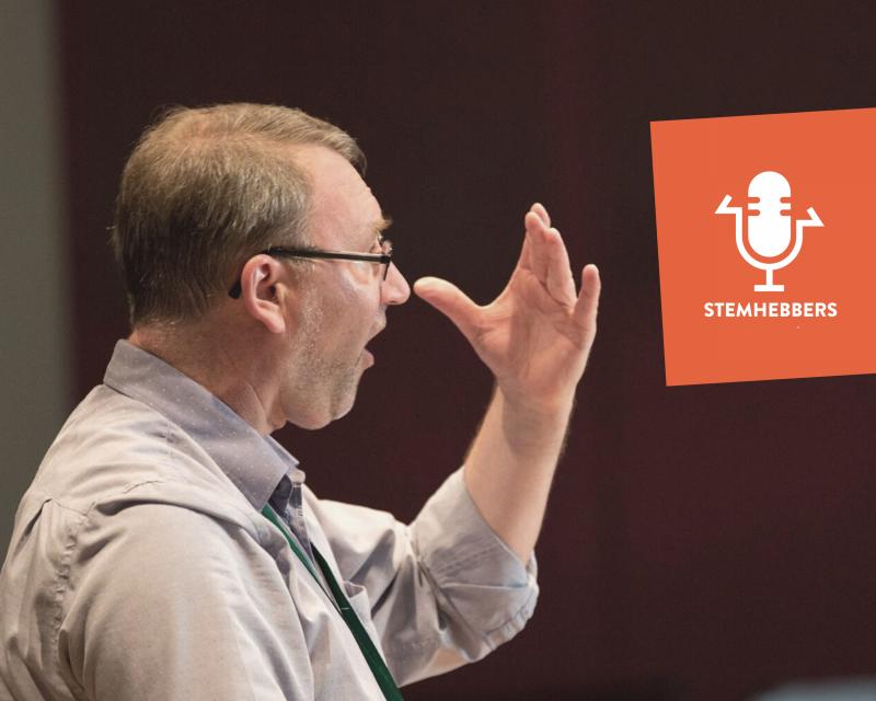 Eerste aflevering podcast STEMHEBBERS met Luc Anthonis